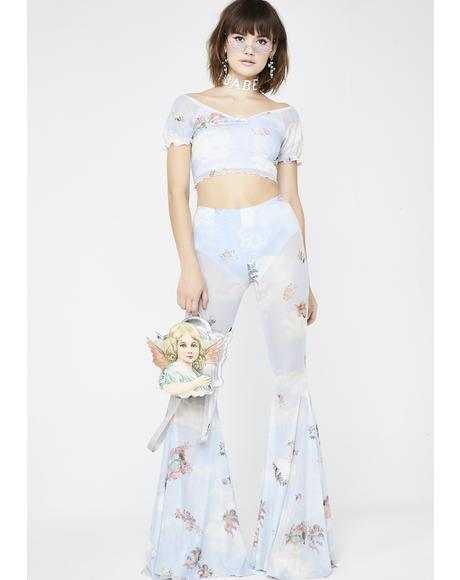 Celestial Sass Bell Bottoms