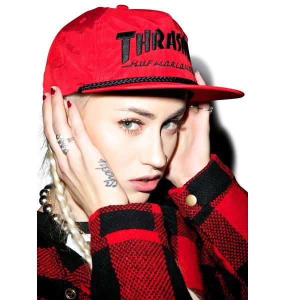 HUF X Thrasher Collab Logo Hat