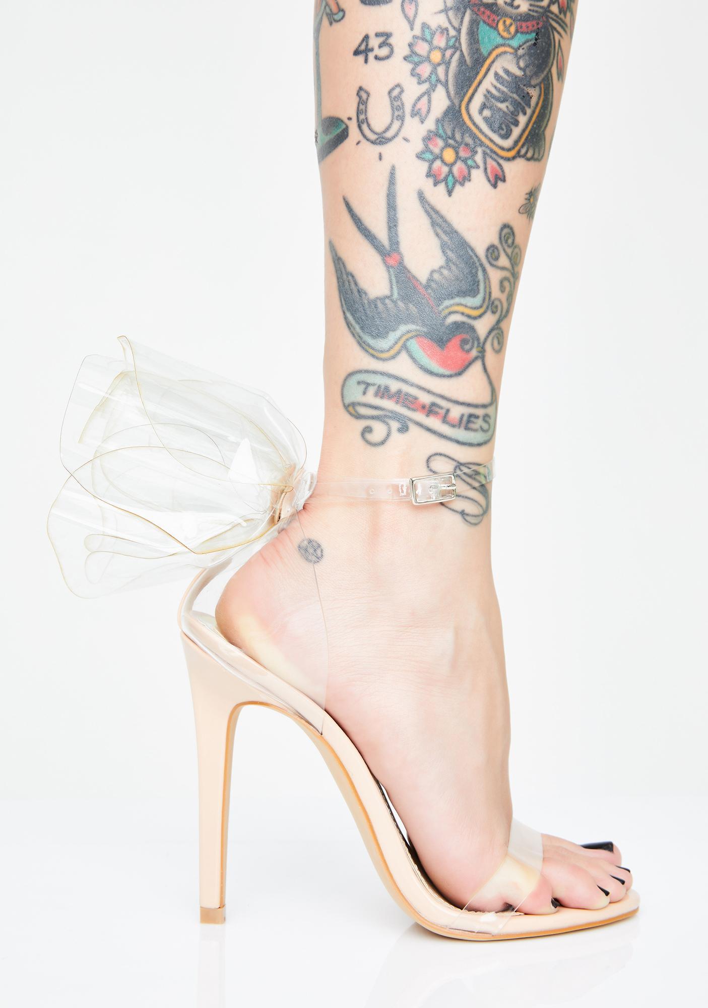 Prissy Princess Stiletto Heels