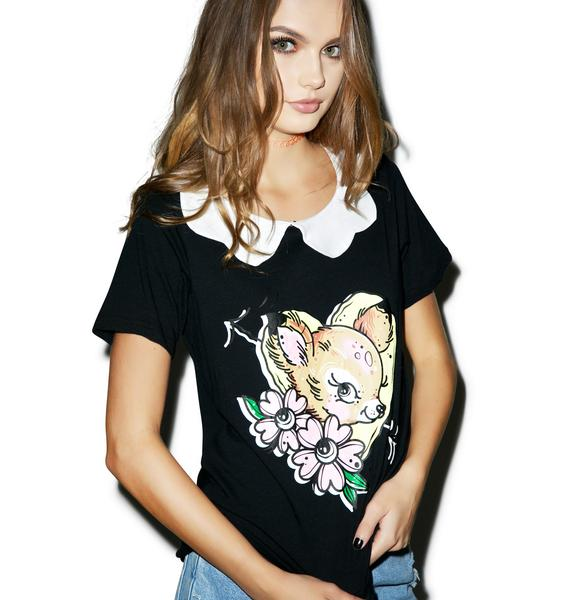Iron Fist Oh Deer Girly Tee