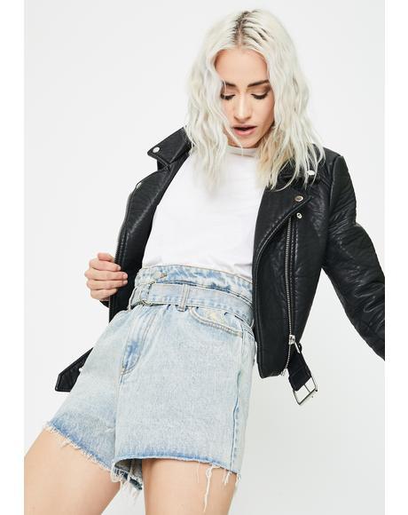Cinch Denim Shorts