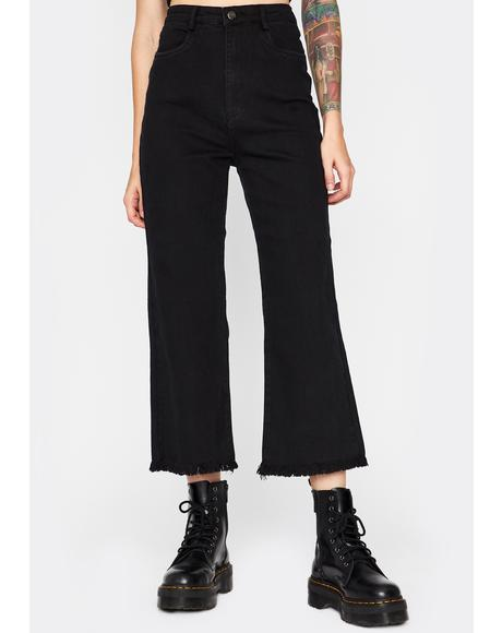 Nothing Is Forever Cropped Pants
