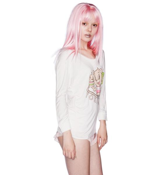 Tokidoki Burger Joint Long Sleeve Tee