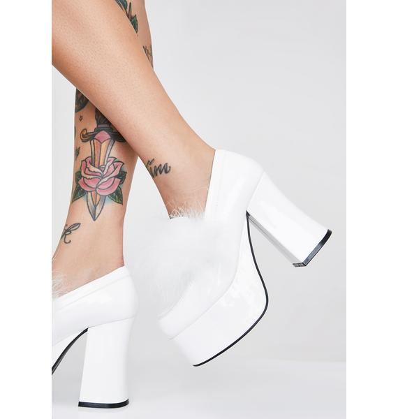 Sugar Thrillz Angel Gossip Girl Platform Heels