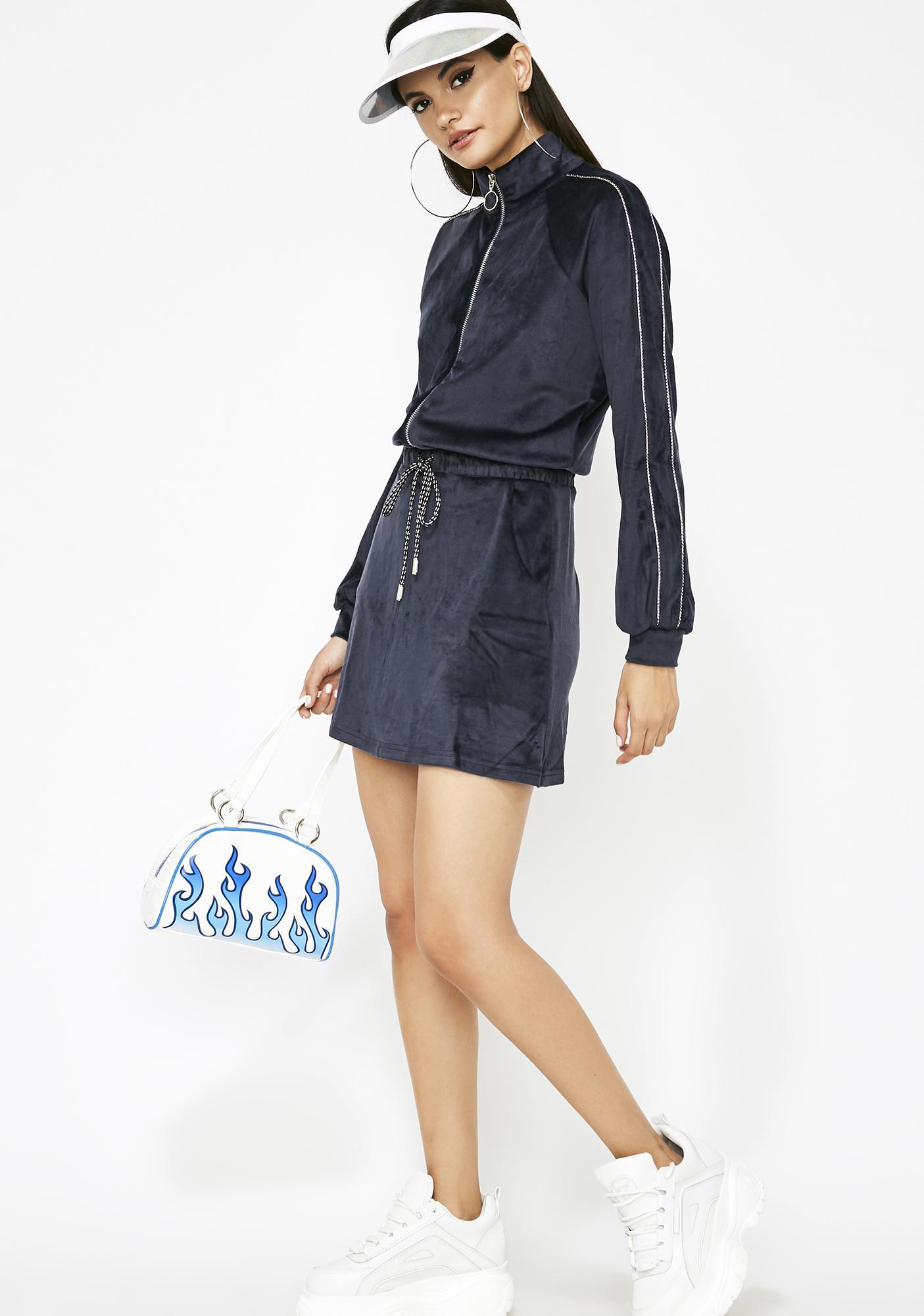 Shorty Like Mine Track Dress