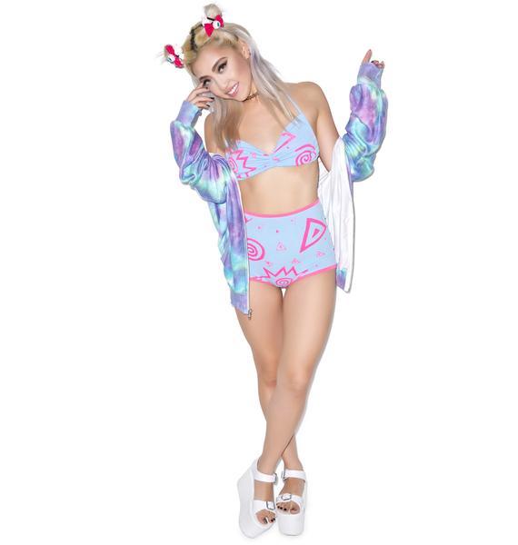 Mamadoux Pink Panty Dropper Bikini Set