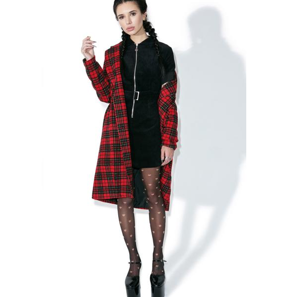 Glamorous Corduroy Possibilities Dress