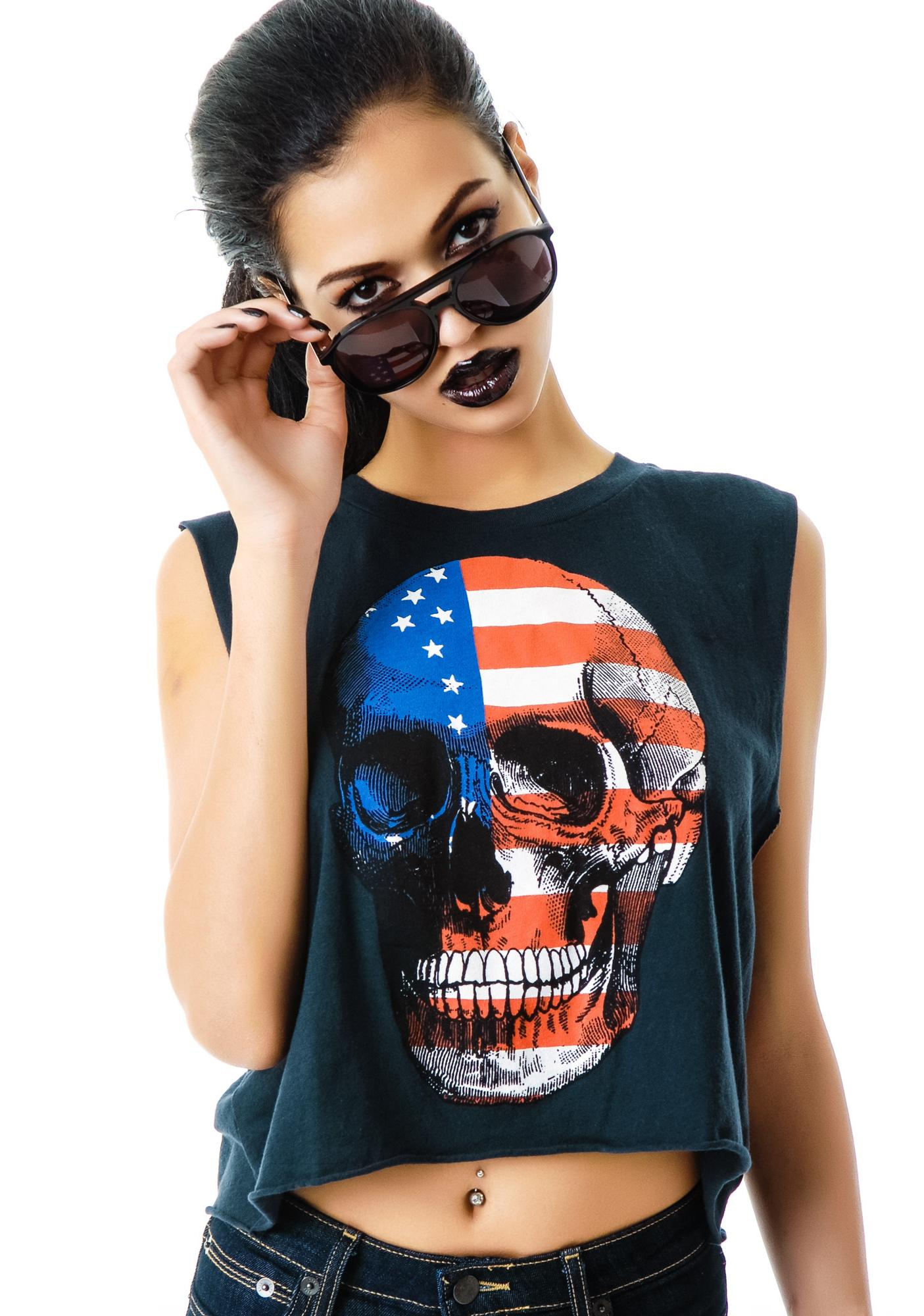 Wildfox Couture American Dream Chad Tank