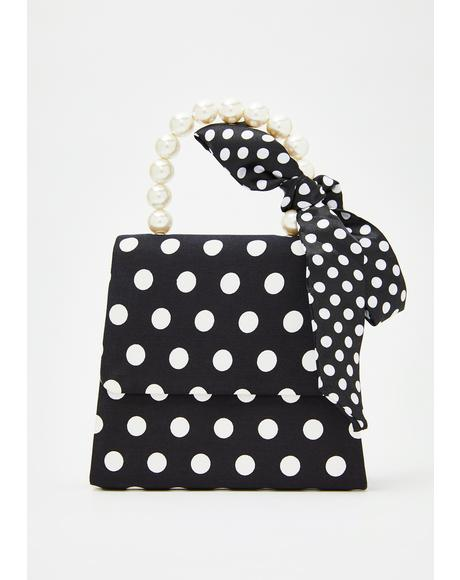 Viva Demure Polka Dot Purse