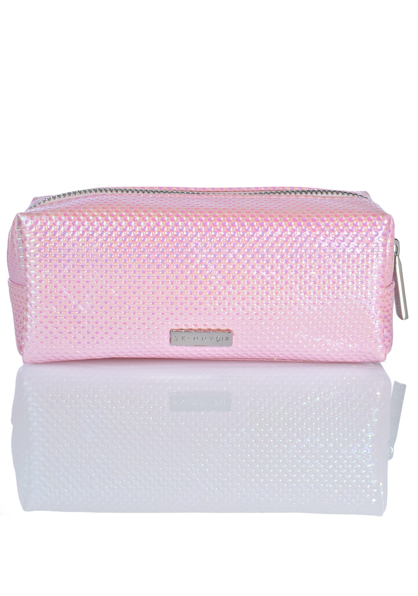 Skinnydip Bubblegum Small Makeup Bag
