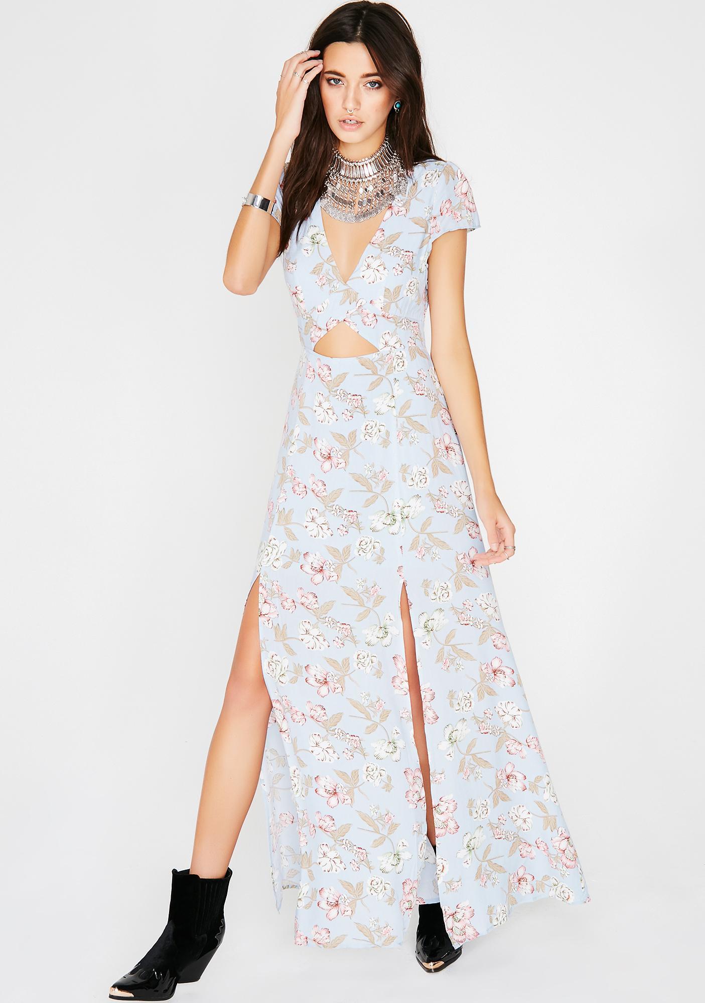 d432274be62 Floral Print Maxi Dress