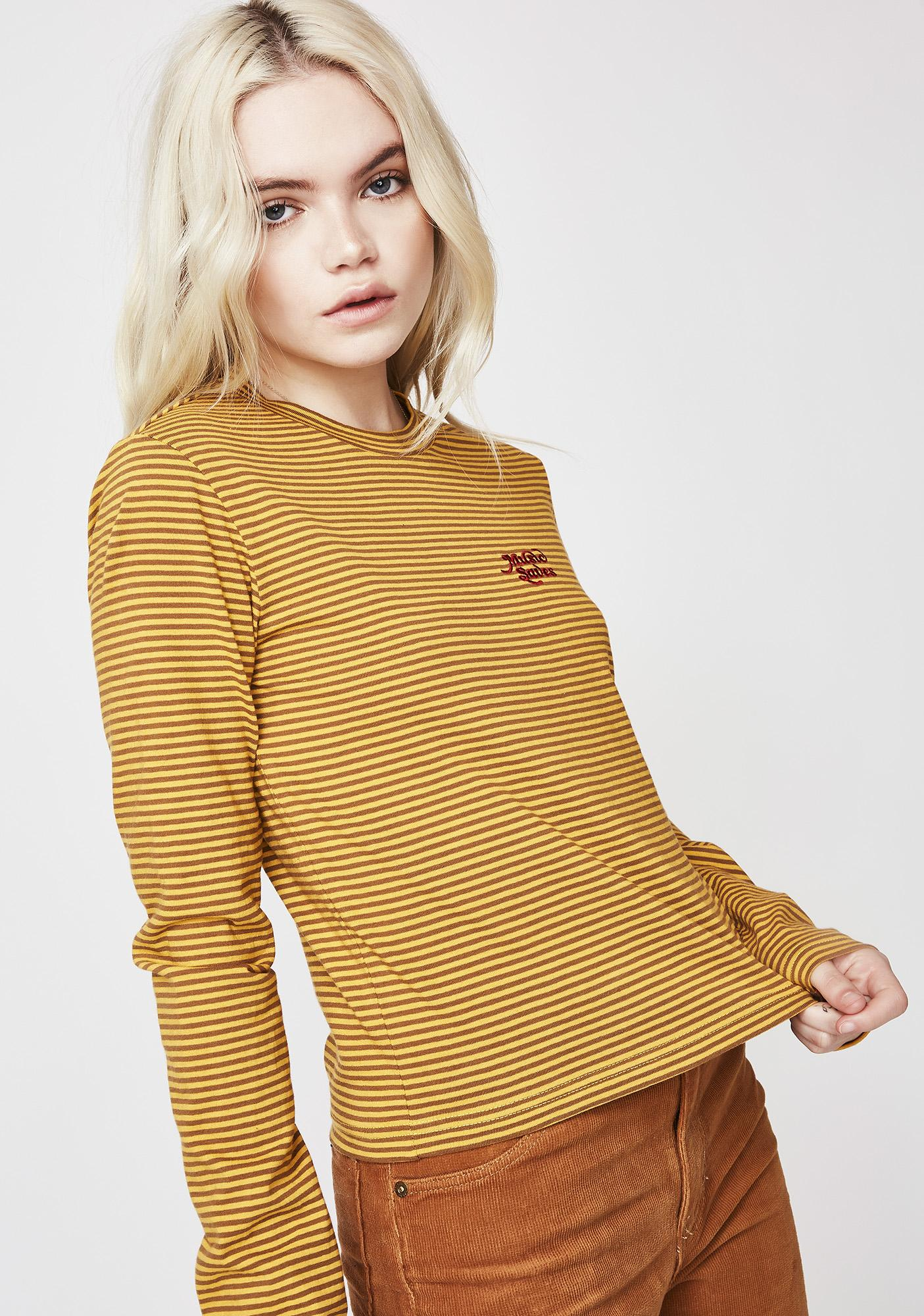 Insight Frequency Stripe Long Sleeve Tee