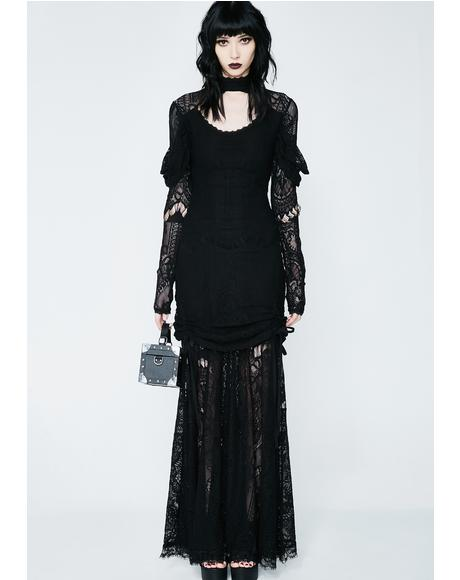 Morte Mistress Maxi Dress