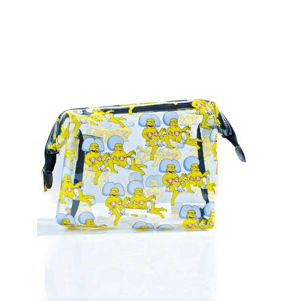 Skinnydip X The Simpsons Patti & Selma Washbag