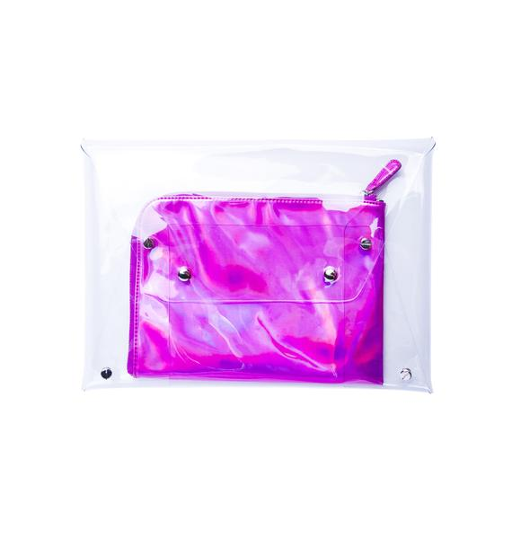 Claudia Clear Clutch