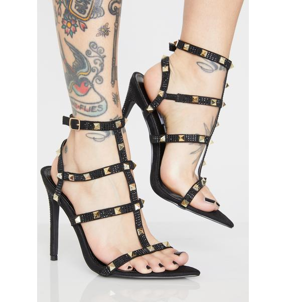 Glam Riot Studded Heels