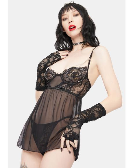 Long Nights Chemise Set