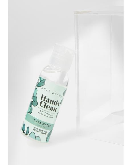 Eucalyptus Hands Clean Moisturizing Hand Sanitizer