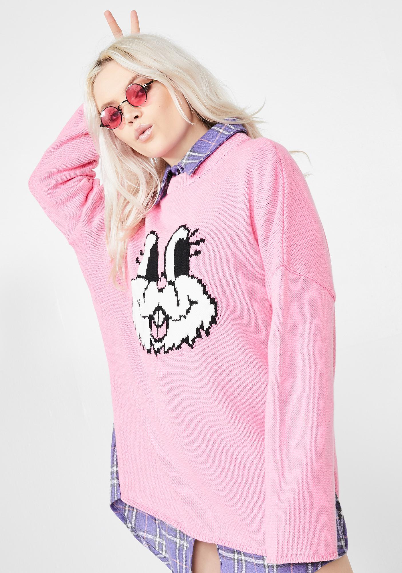 Lazy Oaf Bunny Jumper