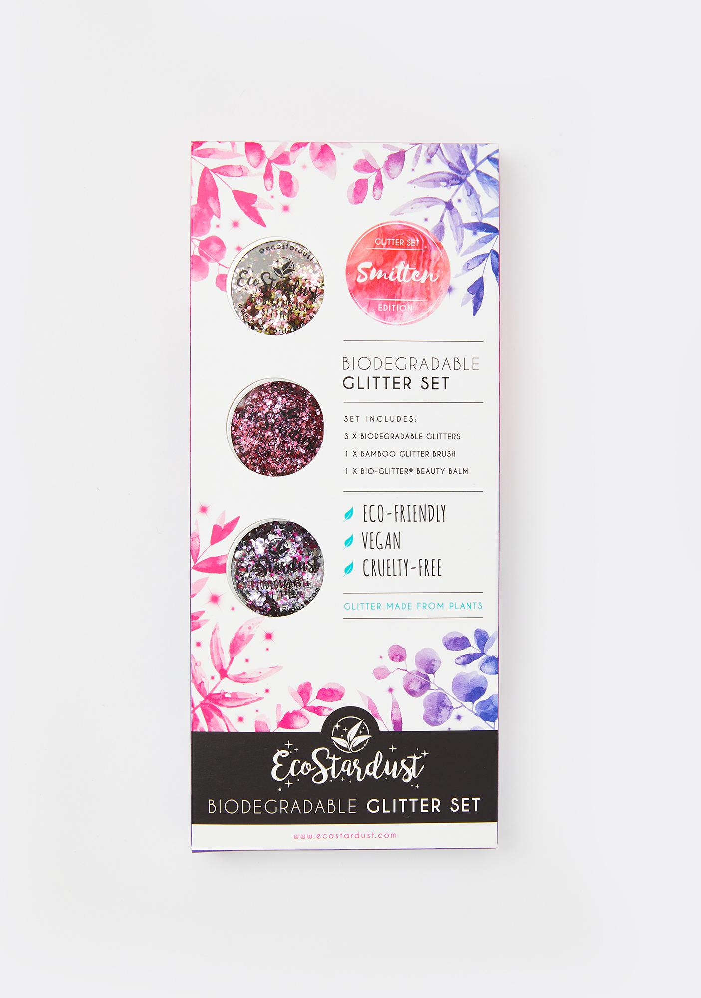 EcoStardust Smitten Biodegradable Loose Glitter Set