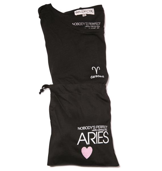 Wildfox Couture Aries Astrology Boy Tee