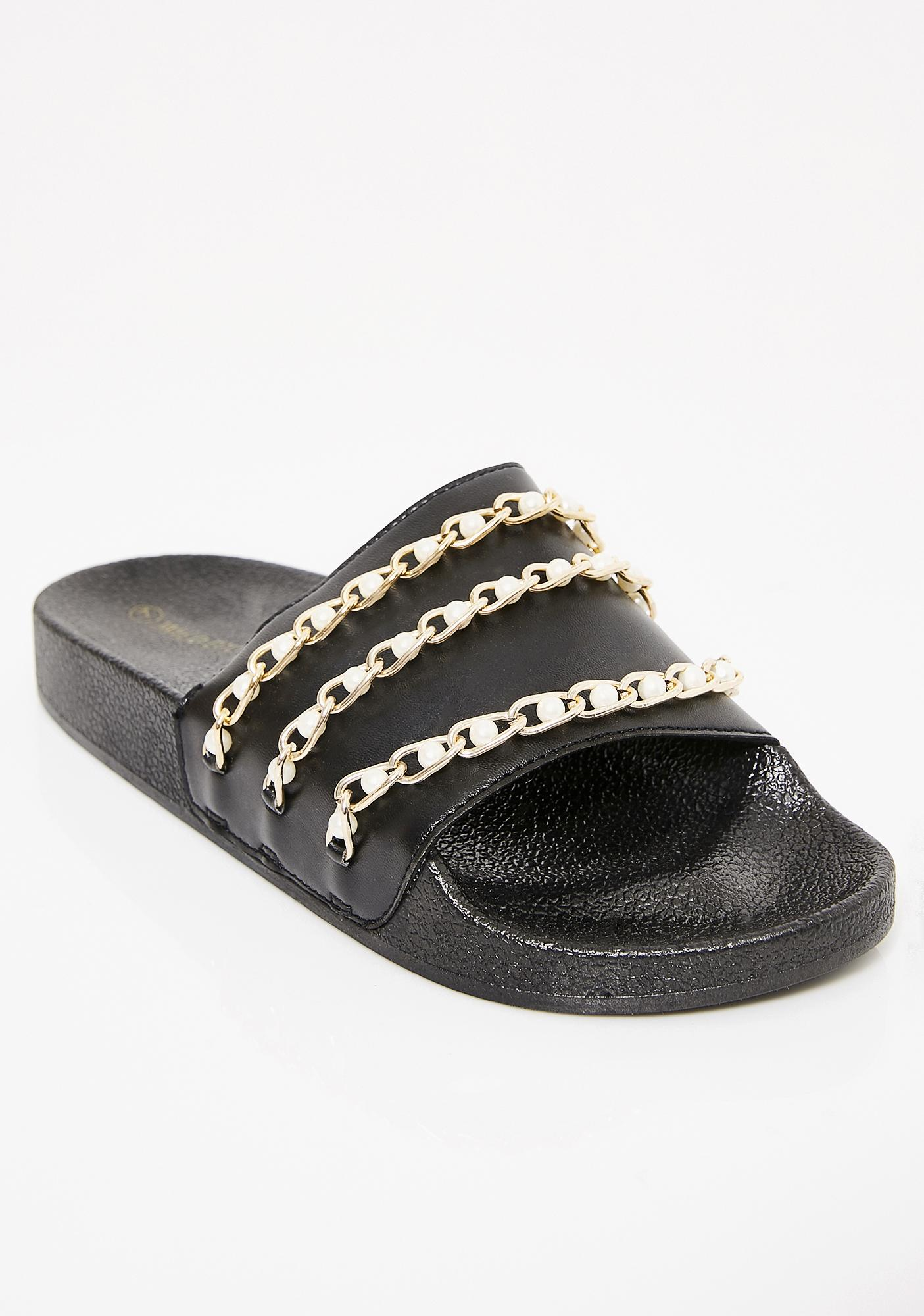 Fancy Me Pearl Slides