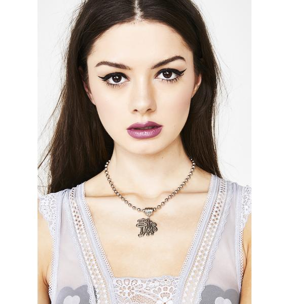 Sinful Bite Chain Necklace