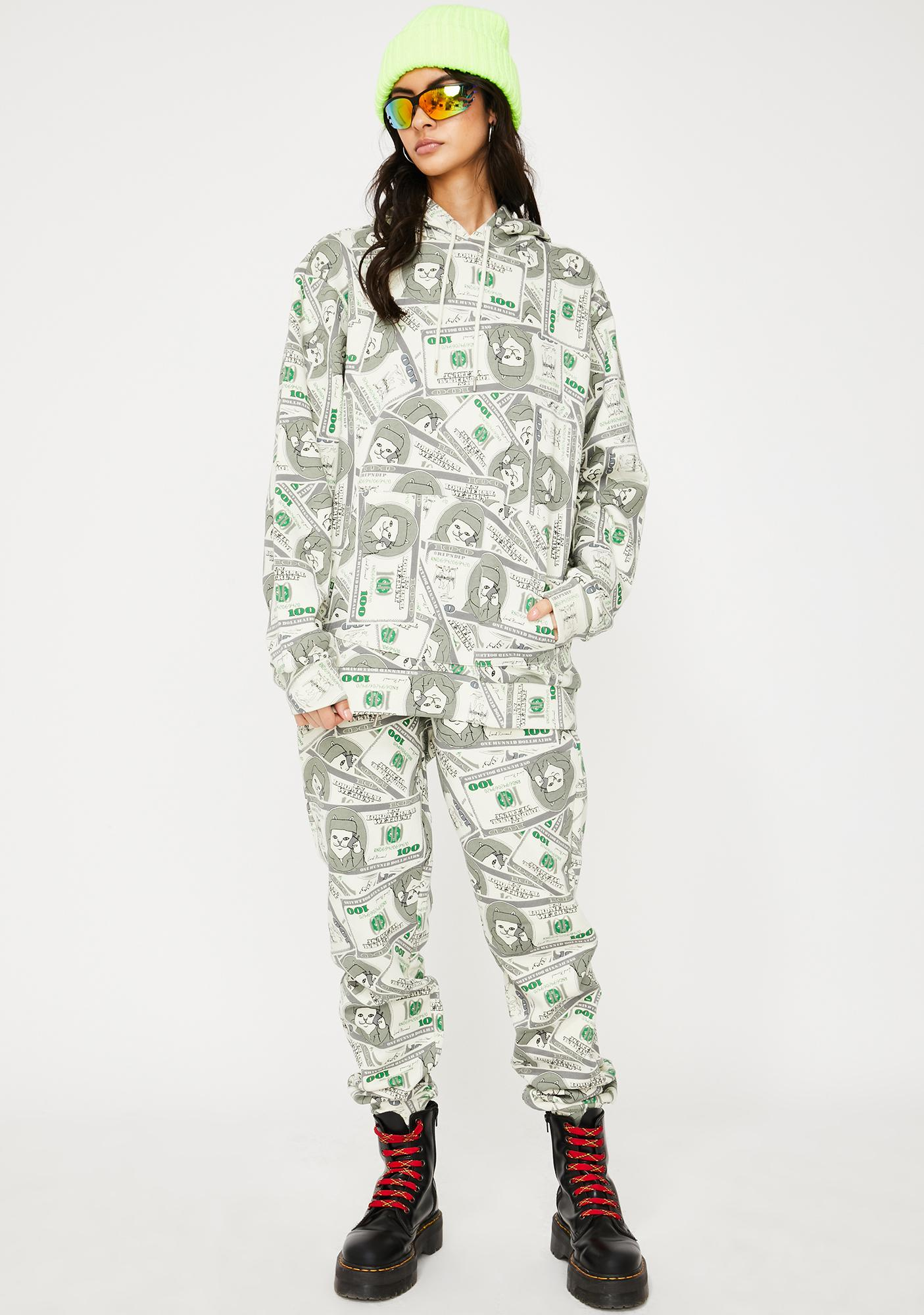 RIPNDIP Money Bags Sweatpants