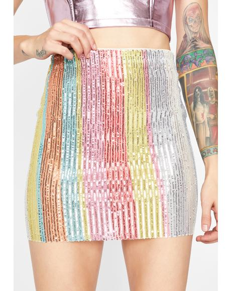 Disco Honey Mini Skirt