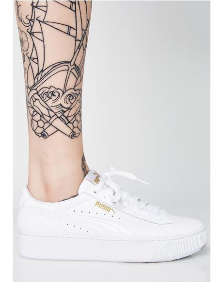Vikky Platform LTHR P Sneakers