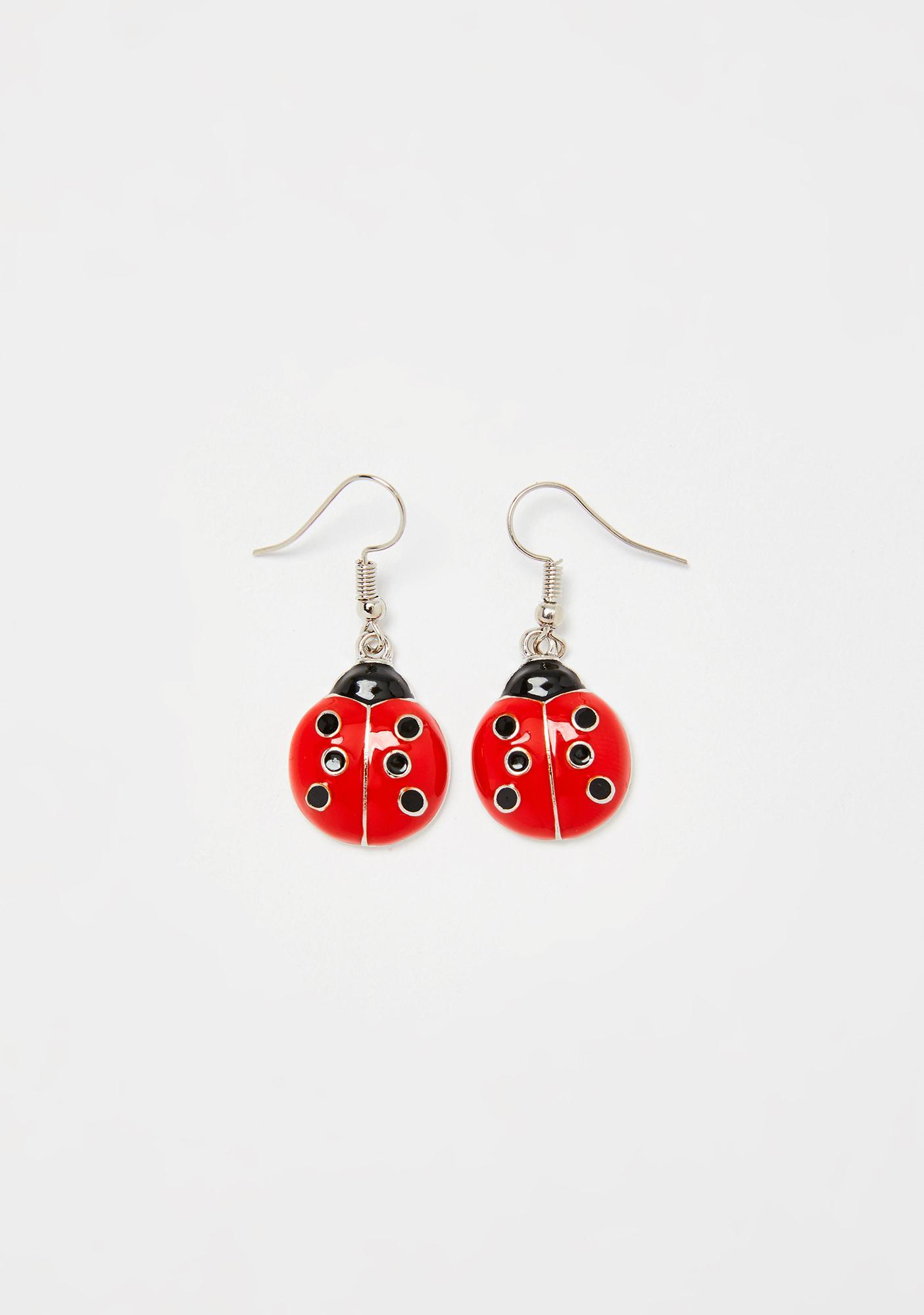 Miss Ladybug Earrings