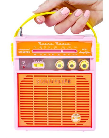 Tangerine Portable Speaker