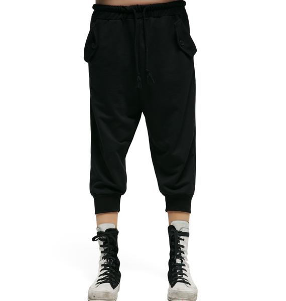 MNML Distortion Cropped Joggers