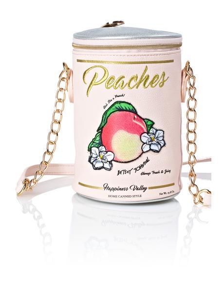 Ain't She A Peach Crossbody Bag