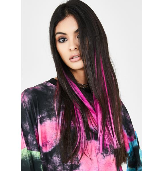 Shrine Mixed Pink Hair Extensions