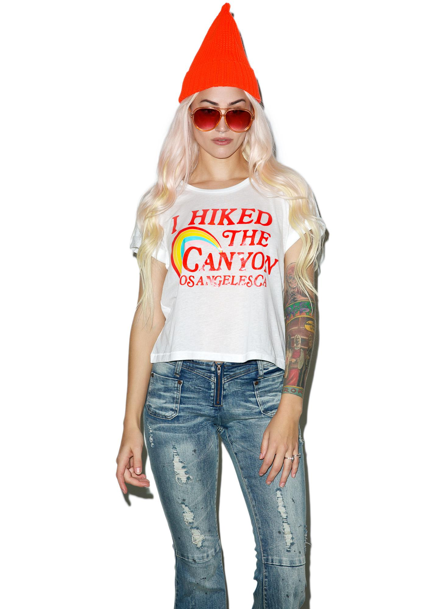 Wildfox Couture Hiked The Canyon Middie Tee