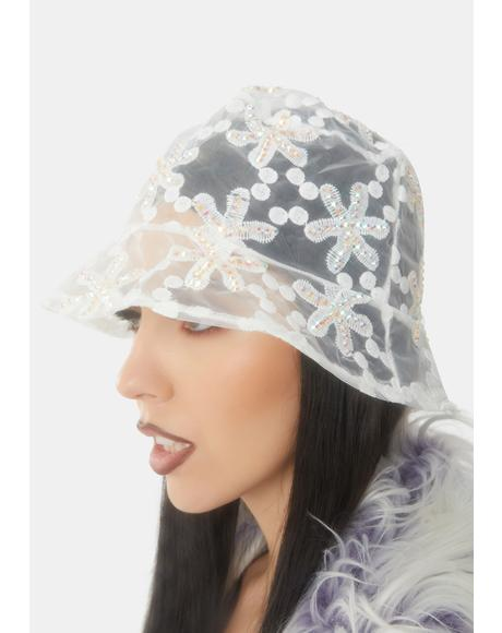 Pure Garden Light Sheer Bucket Hat