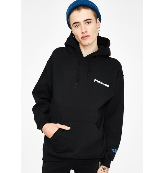 Petals and Peacocks Paranoid Graphic Hoodie