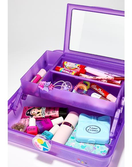 Purple On-The-Go Girl Case
