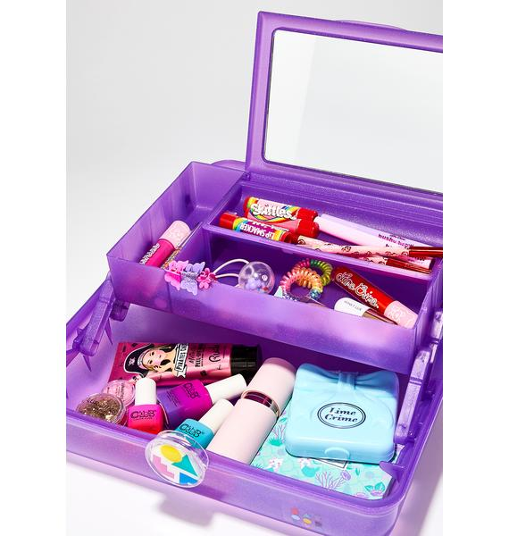 Caboodles Purple On-The-Go Girl Case