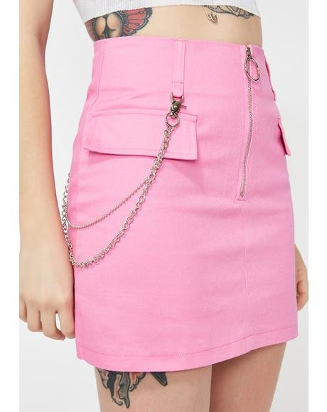 Trust Fund Mini Skirt