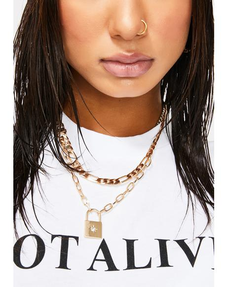 G Mentality Layered Necklace