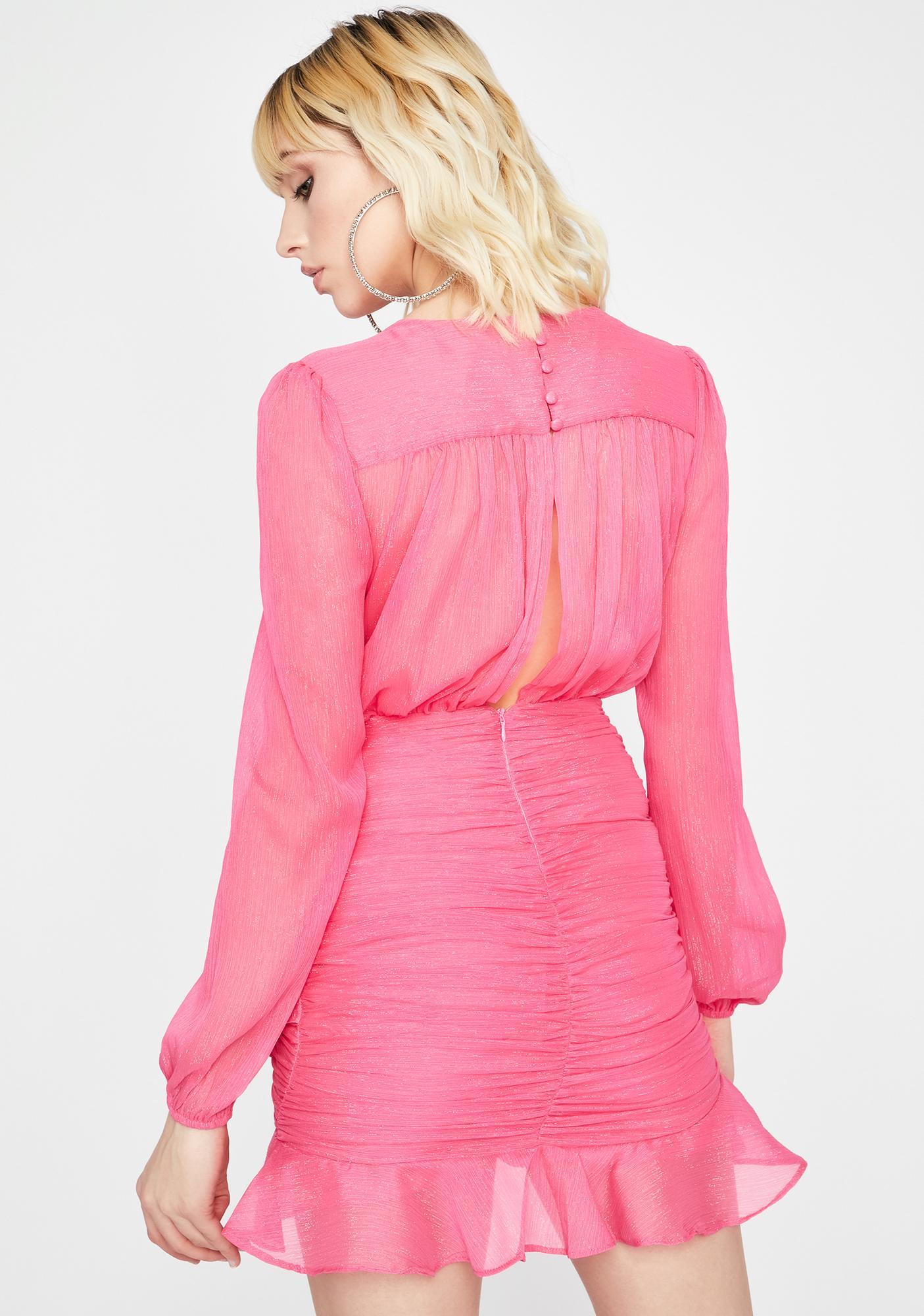 Need A Little Fabulous Mini Dress