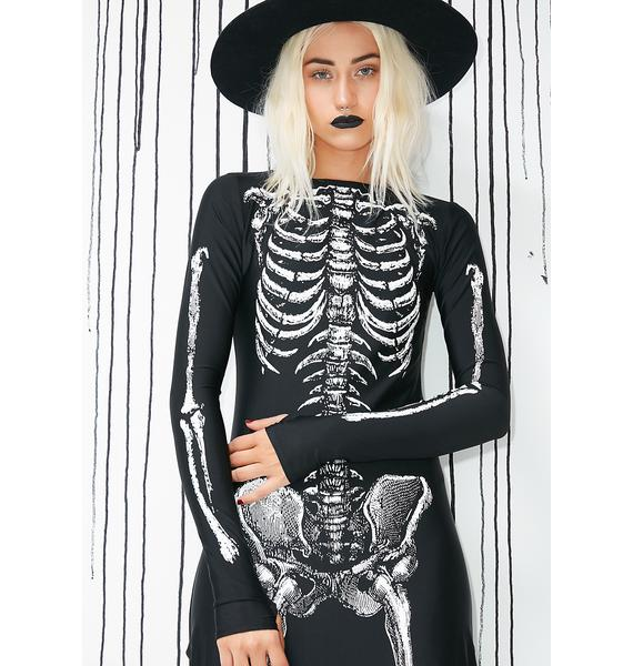 Dolls Kill Bone-afied Babe Costume
