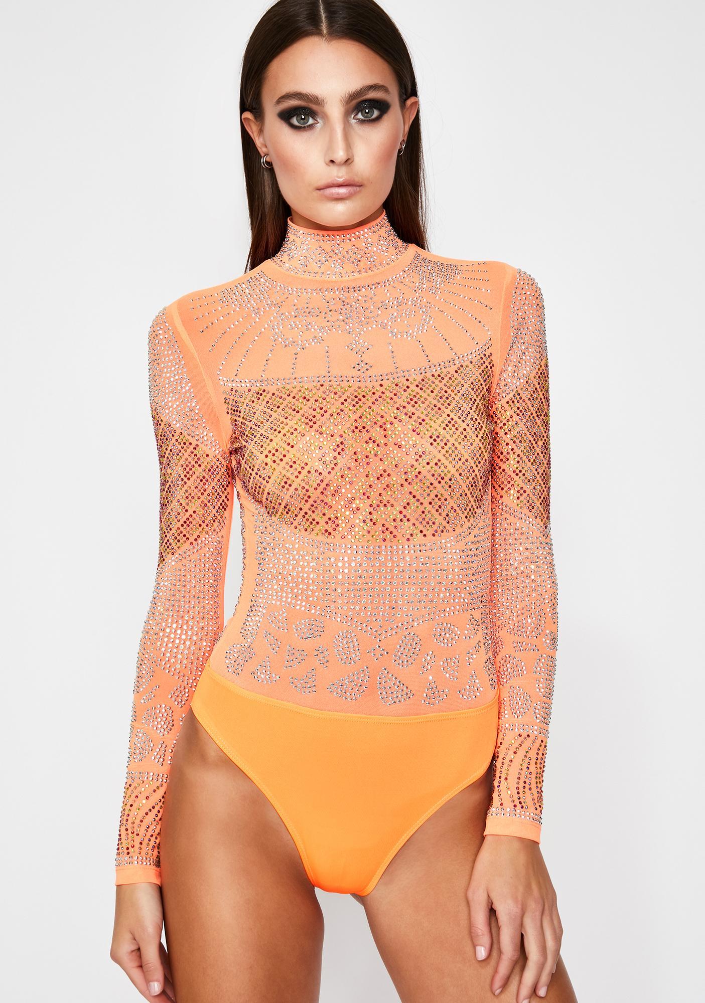 Ginger Rich Desire Rhinestone Bodysuit