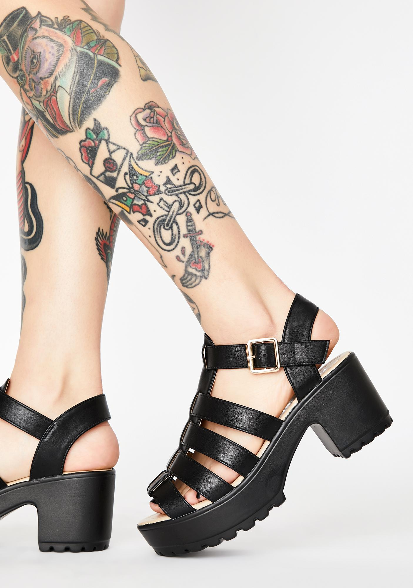 Koi Footwear SII Strappy Cleated Sandals
