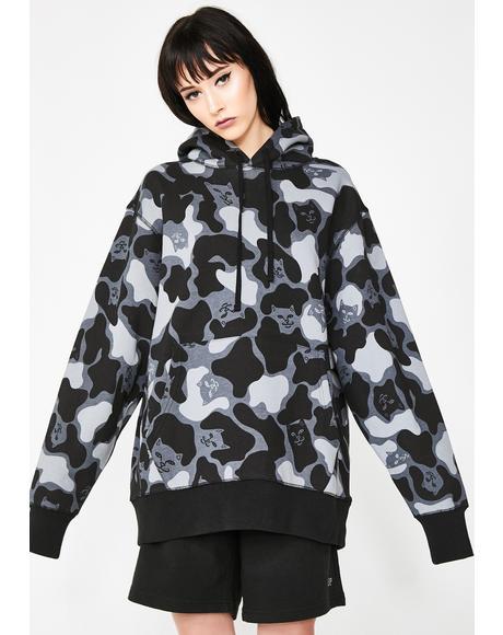 Nerm Camo Pullover Sweater