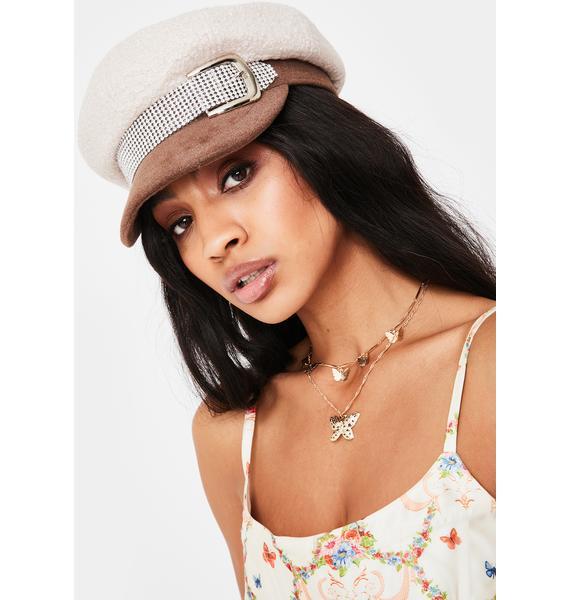 Angel Let's Talk Baker Boy Hat