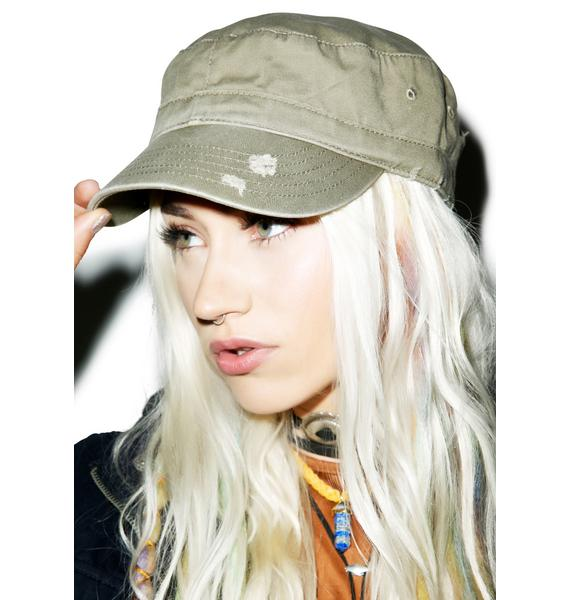 Distressed Militia Hat