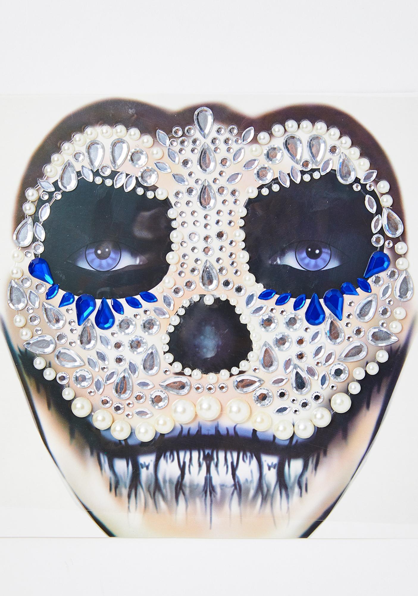 Dazzling Demon Face Gems